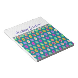 U-pick Color/ Bedazzled Easter Eggs w/ Rhinestones Notepad