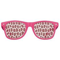 U pick Color/ Brown Giraffe Print in Mosaic Tile Retro Sunglasses