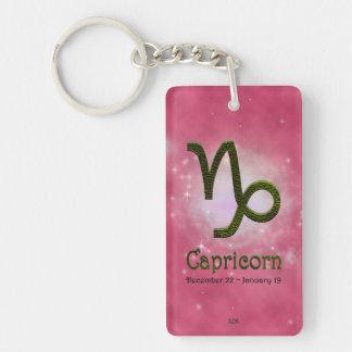 U Pick Color/ Capricorn Personalize Lost & Found Keychain
