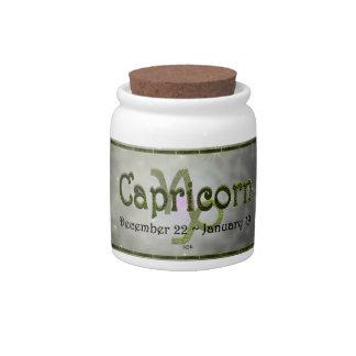 U Pick Color/ Capricorn Zodiac Sign Candy Jars