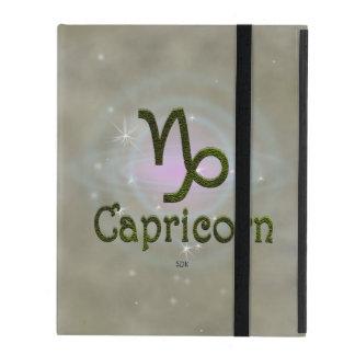 U Pick Color/ Capricorn Zodiac Sign iPad Case