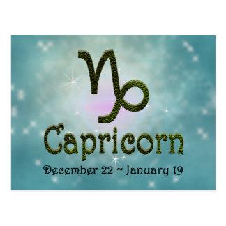 U Pick Color/ Capricorn Zodiac Sign Postcard