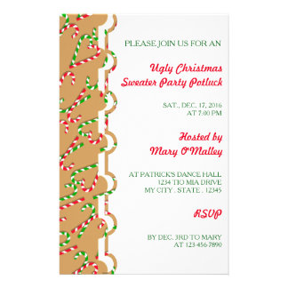 U Pick Color/ Christmas Holiday Candy Canes Flyer