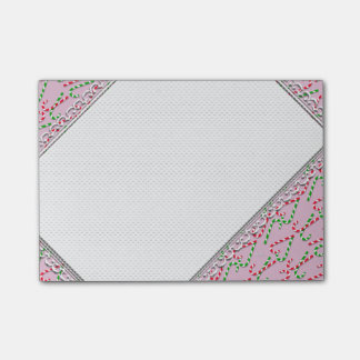 U Pick Color/ Christmas Holiday Candy Canes Post-it Notes