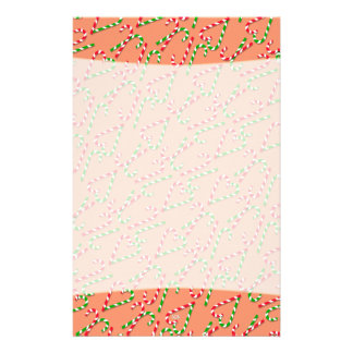 U Pick Color/ Christmas Holiday Candy Canes Stationery