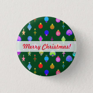 U Pick Color/ Crystal Christmas Tree Ornaments Button