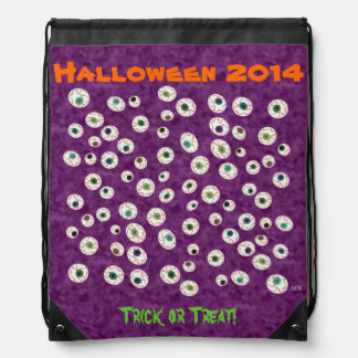 U Pick Color/ Floating Eye Ball Candy Drawstring Bag