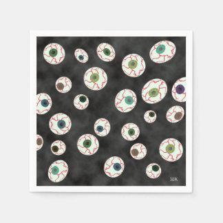 U Pick Color/ Floating Eye Ball Candy Paper Napkin
