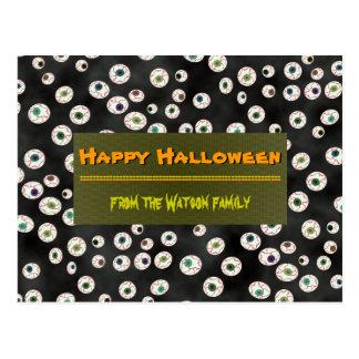 U Pick Color/ Floating Eye Ball Candy Postcard