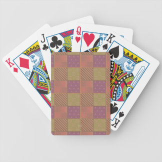 U Pick Color/ Garden Lattice Shimmery Velvet Quilt Bicycle Playing Cards