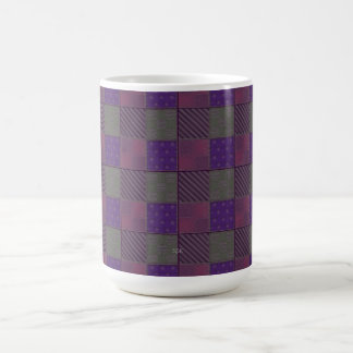 U Pick Color/ Garden Lattice Shimmery Velvet Quilt Coffee Mug