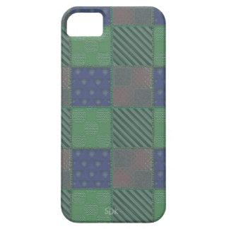 U Pick Color/ Garden Lattice Shimmery Velvet Quilt iPhone SE/5/5s Case
