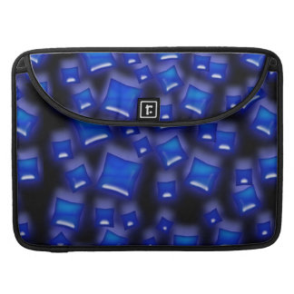 U-pick Color/Glowing Blue Crystal Sapphire Squares Sleeve For MacBook Pro