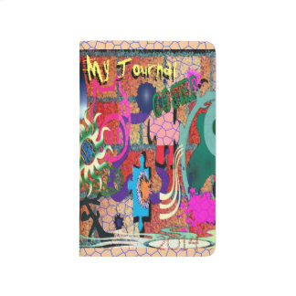 U-pick Color/ Graffiti Art on Brick Wall Journal