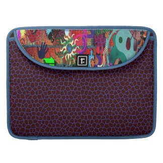 U-pick Color/ Graffiti Art on Brick Wall Sleeve For MacBook Pro