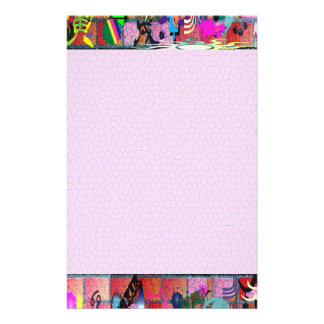 U-pick Color/ Graffiti Art on Brick Wall Stationery
