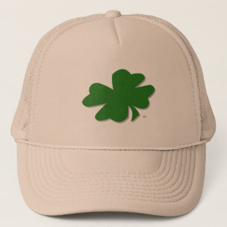 U-pick Color/ Green Good Luck Irish 4 Leaf Clover Trucker Hat