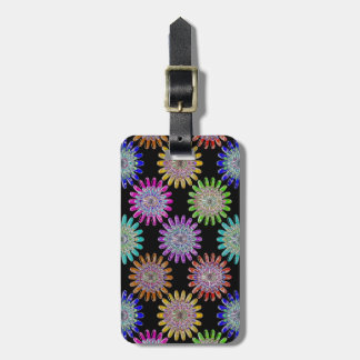 U pick Color/ Hand Blown Glass Crystal Flowers Tag For Bags