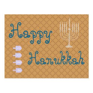 U Pick Color/ Happy Hanukkah Postcard