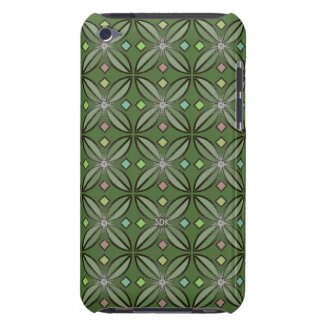U-pick Color/ Iron Celtic Good Fortune Flower Barely There iPod Cover