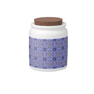 U-pick Color/ Iron Celtic Good Fortune Flower Candy Jar