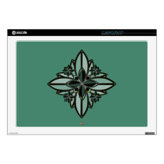 U-pick Color/ Iron Celtic Good Fortune Flower II Decal For Laptop