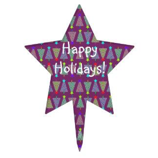 U Pick Color/ Merry Christmas Holiday Trees