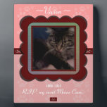 "U Pick Color/Personalized Pet Memorial Plaque<br><div class=""desc"">The loss of an animal companion can be so devastating. Yet while in our grief, it is nice to find products ready made that honor the life of your pet and what he or she meant to you, and how that fur-baby touched your heart. You can personalize the text to...</div>"
