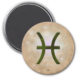 U Pick Color/ Pisces Zodiac Sign Magnet