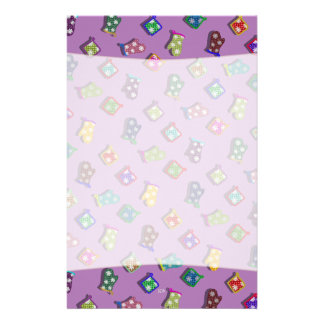 U Pick Color/ Potholder Oven Mitts with Snowflakes Stationery