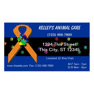 U-pick Color/ Professional Animal Boarding & Hotel Business Card Template