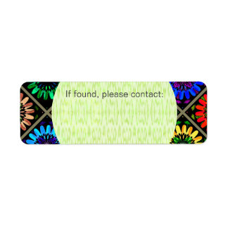 U Pick Color/ Radiant Scrapbook Flowers on Display Label