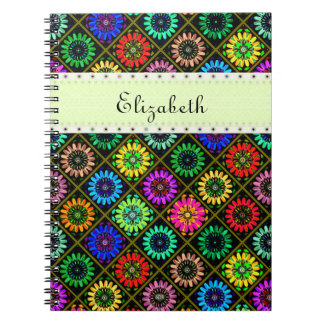 U Pick Color/ Radiant Scrapbook Flowers on Display Notebook