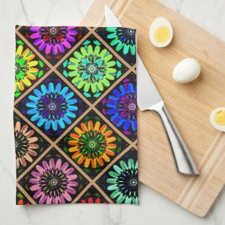 U Pick Color/ Radiant Scrapbook Flowers on Display Towels