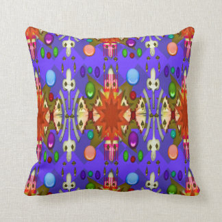 U-pick Color/Renaissance Party Cathedral Celebrate Throw Pillow