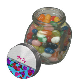 U pick Color/ Royal Birthstone Jewels & Gems Glass Jars