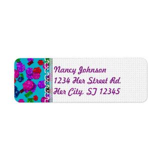 U pick Color/ Royal Birthstone Jewels & Gems Label
