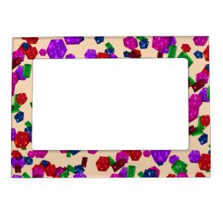 U pick Color/ Royal Birthstone Jewels & Gems Magnetic Picture Frame