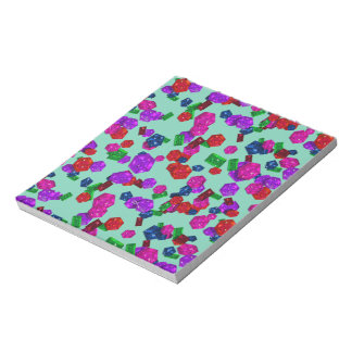 U pick Color/ Royal Birthstone Jewels & Gems Memo Notepads