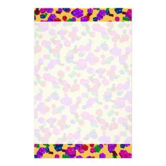 U pick Color/ Royal Birthstone Jewels & Gems Stationery