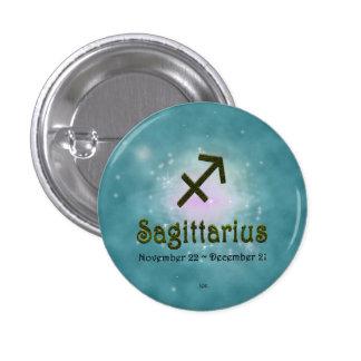 U Pick Color/ Sagittarius Zodiac Sign Button
