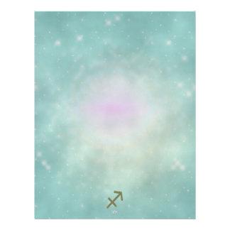 U Pick Color/ Sagittarius Zodiac Sign Letterhead