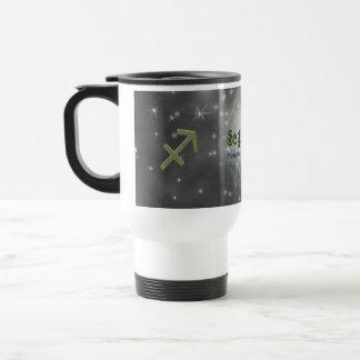 U Pick Color/ Sagittarius Zodiac Sign Travel Mug