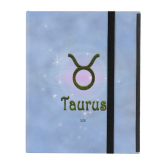 U Pick Color/ Taurus Zodiac Sign iPad Case