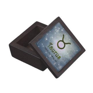 U Pick Color/ Taurus Zodiac Sign Keepsake Box