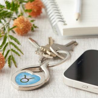 U Pick Color/ Taurus Zodiac Sign Keychain