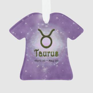 U Pick Color/ Taurus Zodiac Sign Ornament