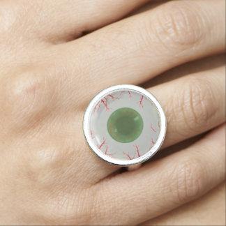 U Pick Color Tint/ Halloween Eyeball Globe Ring