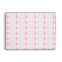 U Pick Color/ Valentine's Day Hugs and Kisses Envelope