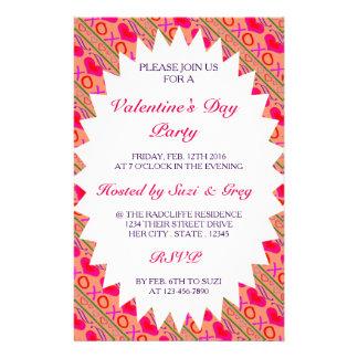 U Pick Color/ Valentine's Day Hugs and Kisses Flyer